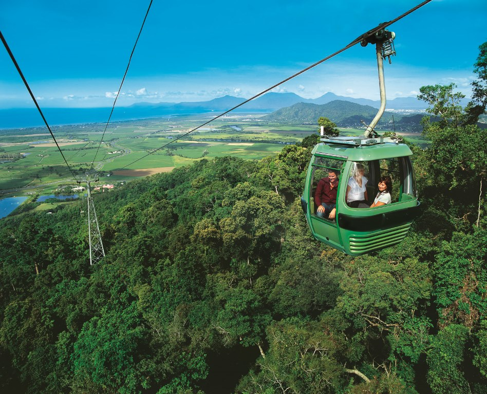 Visit Kuranda - Skyrail Up / Train Back  2PM Train